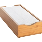 Cal-Mil - Bamboo Napkin Holder | Public Kitchen Supply