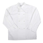 Iron Guard- White Button Double Down Breasted Chef Jacket | Public Kitchen Supply