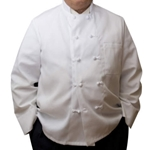 Iron Guard- White Knotted Double Down Breasted Chef Jacket | Public Kitchen Supply