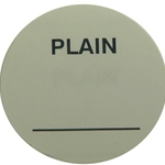 Daymark - Plain Circle Label (1000/roll) | Public Kitchen Supply