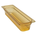 "Cambro - 1/2 Size Long x 4"" Deep High-Heat Food Pan  