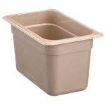 "Cambro - 1/4 Size x 6"" Deep High-Heat Food Pan  