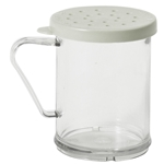 Cambro - 10 oz Parsley Shaker/Dredge (Clear) | Public Kitchen Supply
