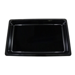 "Cambro - Full 1/1 Size x 2.5"" Deep High-Heat Food Pan Black Hot 