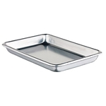Winco - SHEET PAN, 1/8 SZ, OPEN BEAD 16 GA, 3003 ALUM | Public Kitchen Supply