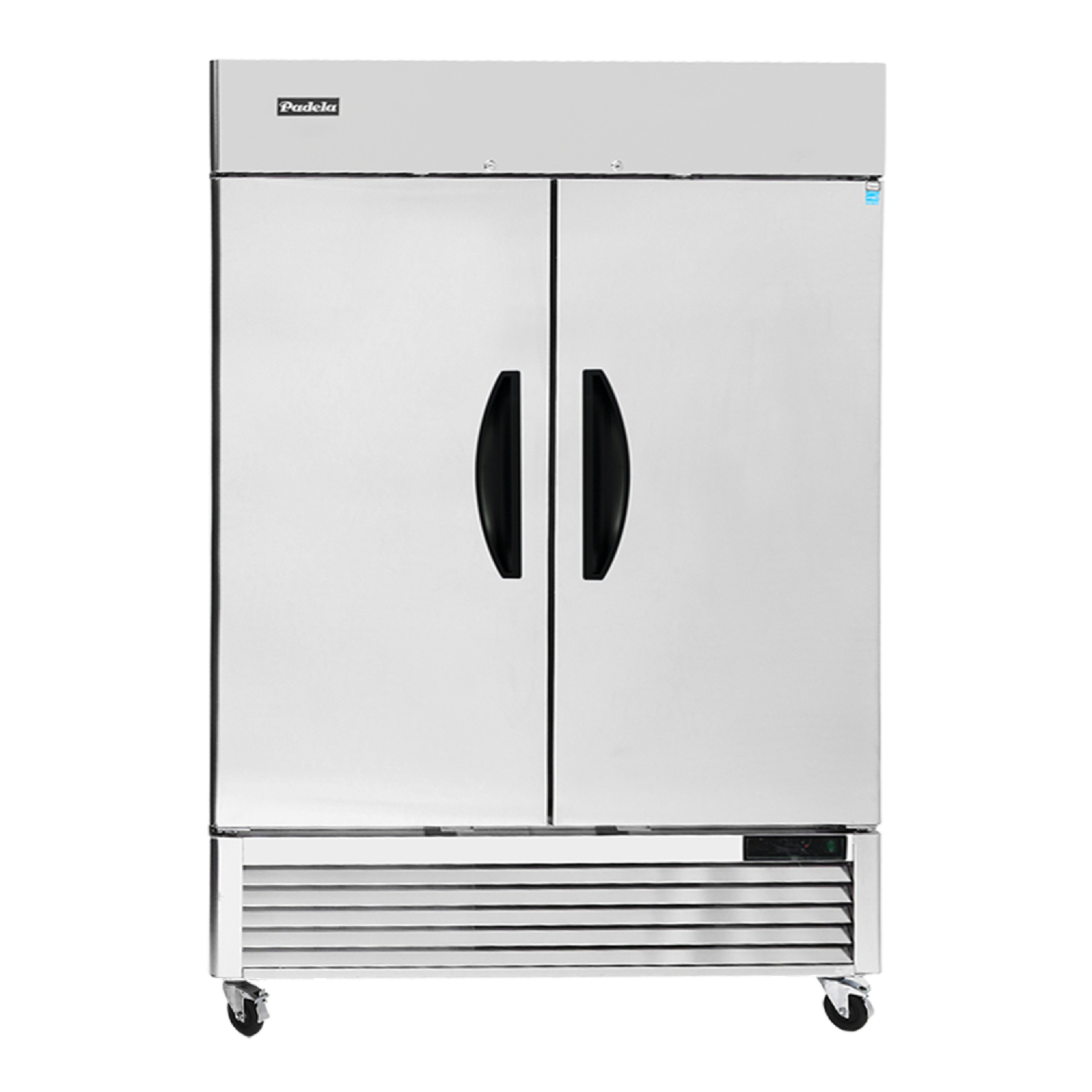 "Padela- Freezer, reach-in, two-section, 54-3/8""W x 31-1/2""D x 83-1/8""H, (PDB-2F-HC)"