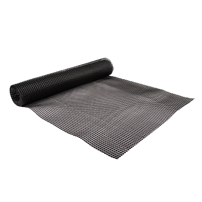 San Jamar - 2' x 10' Poly-Liner Shelf Liner (Black) |Public Kitchen Supply