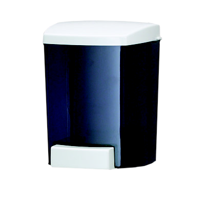 San Jamar - 30 oz Classic Soap Dispenser (Black) | Public Kitchen Supply