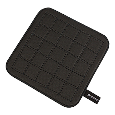 "San Jamar - 10"""" Ultigrips Hot Pads (Blk) 