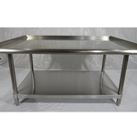 Iron Guard-SS Equipment Stand 30 X 48 X 24 304SS 16GA | Public Kitchen Supply