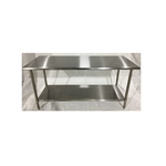 Iron Guard-Work Table All SS 30 X 48, 430-16GA with 18GA Undershelf| Public Kitchen Supply