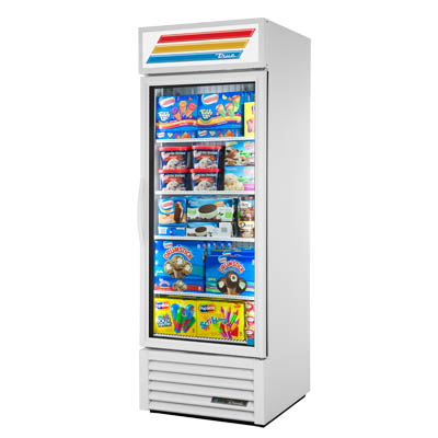 "True - 78"""" Glass Door Freezer (1 Sec) 