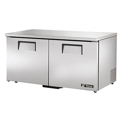 "True - Low Profile 60"""" Undercounter Freezer 