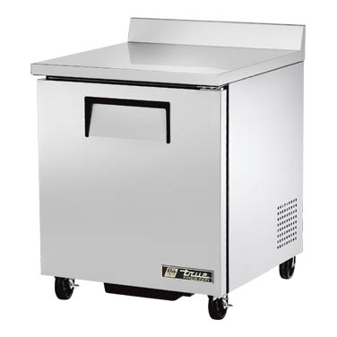 "True - Single Section 27"""" Worktop Freezer 