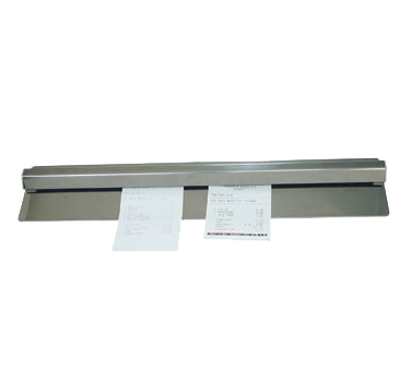 "Update International - 48"""" Wall-Mounted Check Holder 