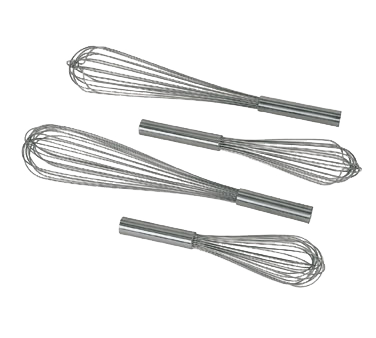 "Update International - 14"""" Stainless French Whip