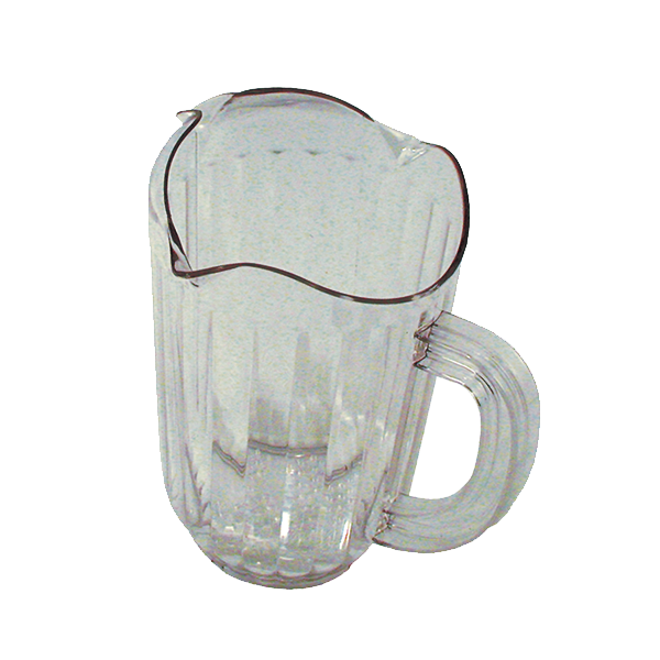 Update International - 60 oz Clear Clear Pitcher | Public Kitchen Supply