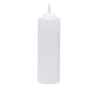 Update International - 24 oz Clear Squeeze Bottle | Public Kitchen Supply