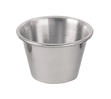Update International - 2.5 oz Stainless Sauce Cup | Public Kitchen Supply