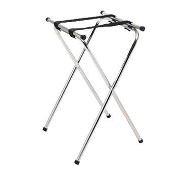 "Update International - 31"""" Chrome Tray Stand 