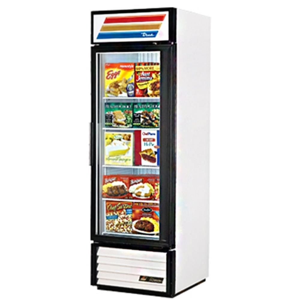 "True - 78"" Glass Door Freezer"