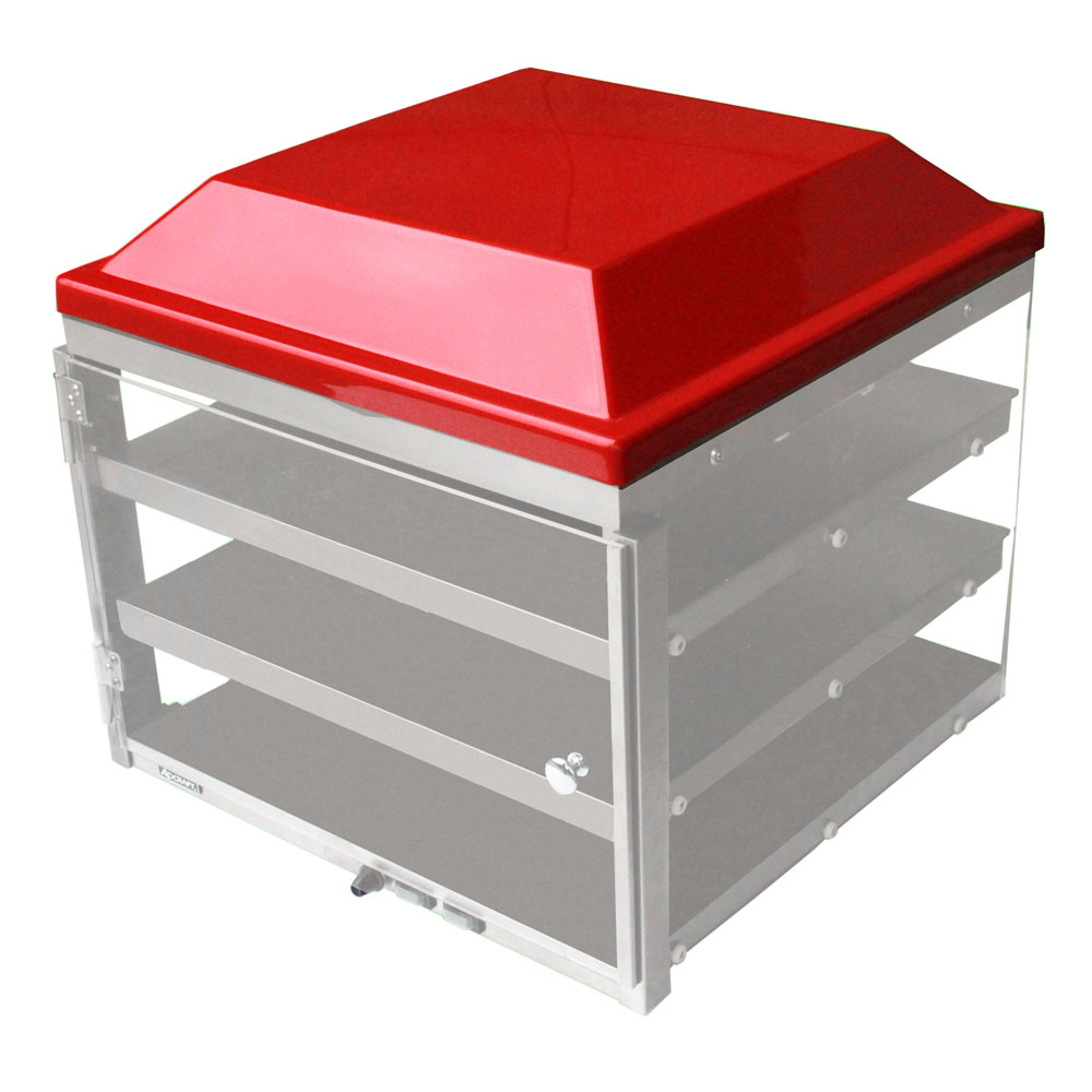 Adcraft - Red Plastic Top for PW-16 | Public Kitchen Supply