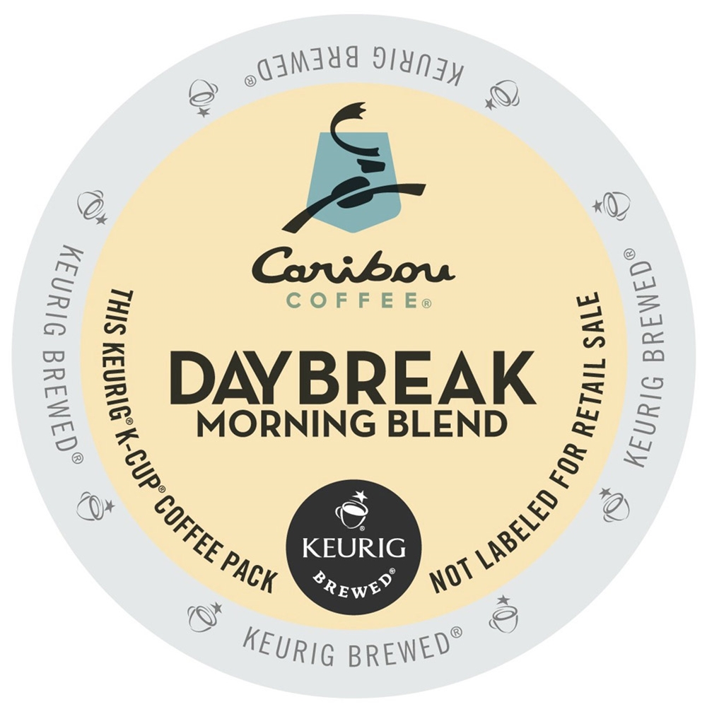 Caribou Coffee - Daybreak Morning Blend K-Cups | Public Kitchen Supply