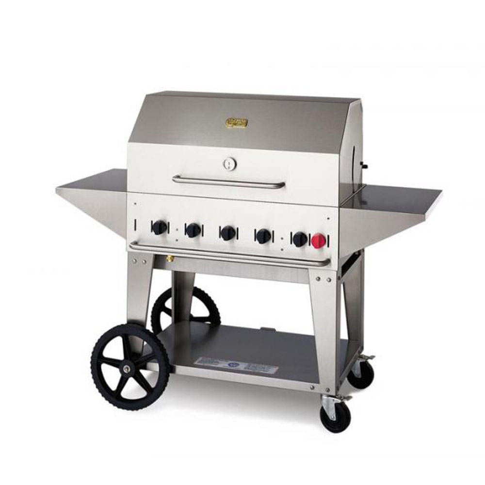 """Crown Verity - 34"""" Outdoor Natural Gas Grill w/Accessories ..."""