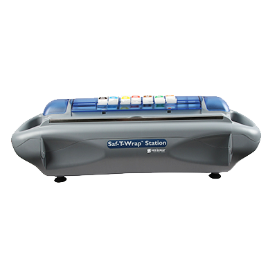 San Jamar - Safety Wrap Station Dispenser | Public Kitchen Supply